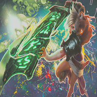 Riven League Of Legends by ErzaScarletRivaille
