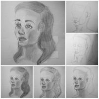 Drawing Process by UnblemishedWorld