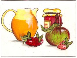 ATC Strawberry Jam by claudiamm37
