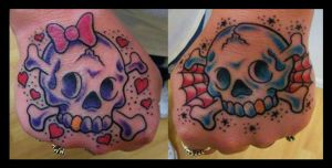 SKULLS by TATTOOEDSLUT666