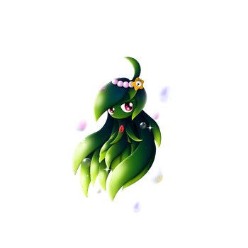 PvZ Hero Fanmade: GreenSiren, shadowgirl211's OC by JackieWolly