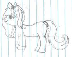 My first MLP drawing by RaindropLily
