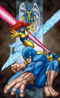 original x-men by belgerles