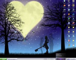 KH desktop by hylian-dragoness