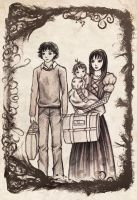 The Baudelaires by vivsters