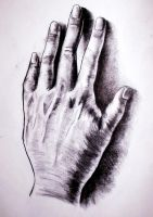 Hand study by MaryKms
