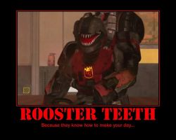 Rooster Teeth by ProfessorNature