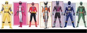Once a Ranger Force 2.0 by Yob3