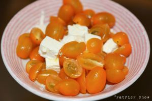 Tomato feta salad by patchow