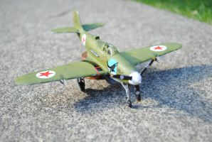 1:72 Russian Airacobra by Bendeavour
