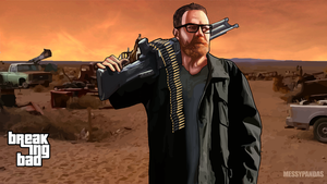 Walter White 52 GTA style by MessyPandas