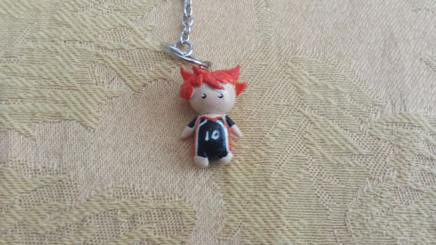 Hinata Shouyou Keychain(For Sale) by erosofhearts