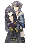 FE:A - Inigo and Morgan by palmtreehero