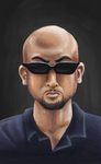 Bald Dude on GIMP by IanDimas