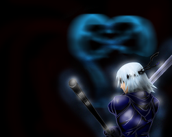 Kingdom Hearts Riku draft by teamsugoi1
