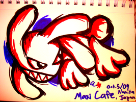 Maxi Cafe Illustration, Gift by Cody-Church