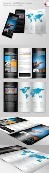 Consulting Trifold Brochure by TonyB3