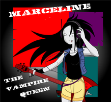 Marceline Headshot by CrimsonFace