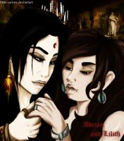 Adrian and Lilith by Little-Voices