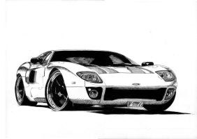 2006 Ford GT by AERO-HDT