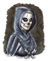 Lady Skeletor by BigChrisGallery