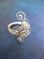 Scrollwork Ring by cRavE-12