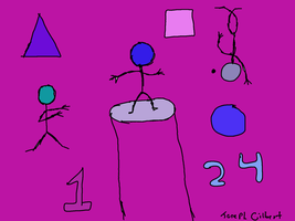 Stick Figures Shapes And Numbers by gtstyling32
