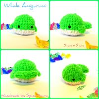 Chibi Whale Amigurumi by SpinaOscura