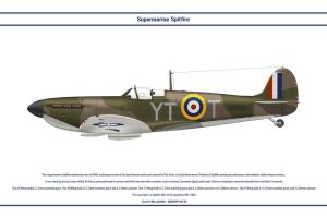 Spitfire Mk I GB 65 Sqn by WS-Clave