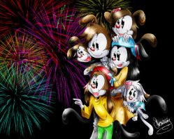 Firework Display- by iiBumbleBee