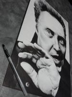 Christopher Walken Ballpoint2 by starr2099