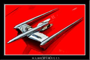 50 Oldsmobile 88 Hood Ornament by mahu54