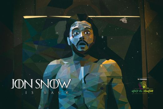 Jon Snow is back!! by RAED-DES