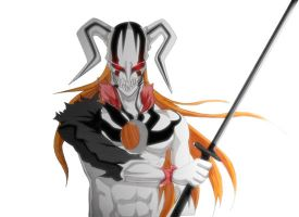 Hollow Ichigo Horn by benderZz