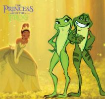 the princess and the frog by 9Timothy9