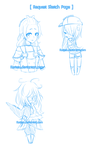 Requests Sketch Page by Kuriesu