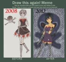Before and After coloured by Okihara