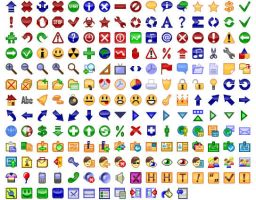 24x24 Free Button Icons by Ikonod