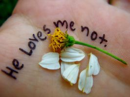 He Loves Me Not by TheCauseOf