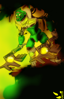 BIONICLE: Lewa Master of Jungle by gk733