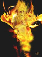 Fire Spirit by Tricia-Danby