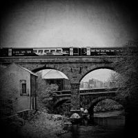 eastbound train by RickHaigh