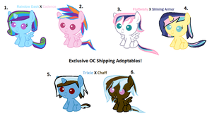 Shipping Adoptables #3 (Open) by wezzie1