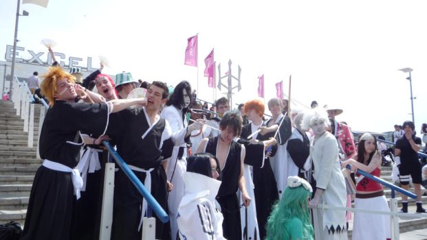 MCM EXPO MAY 09 Bleach Group 3 by Tartan-Faerie