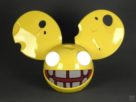 Deadmau5 Cheese Head V2 by DoubleZeroFX