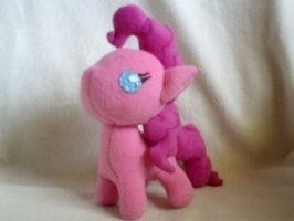 Pinkie pie filly plush by millylilly14