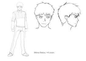 Shirou 6 years after by Spring-O