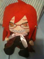 Grell Plush by InuyashaRules6596
