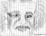 Albert Einstein by Dany-E