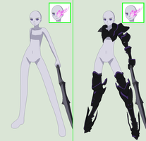BRS-Armor and Sword Base by TFAfangirl14